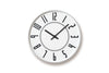 Lemnos Eki Wall Clock White | Wall Clocks Online | Bibliotek Design