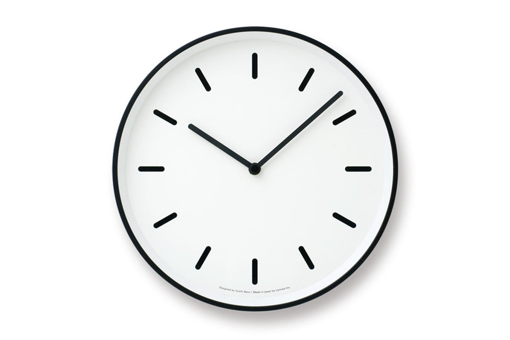 Mono Wall Clock White | Wall Clocks Online | Bibliotek Singapore