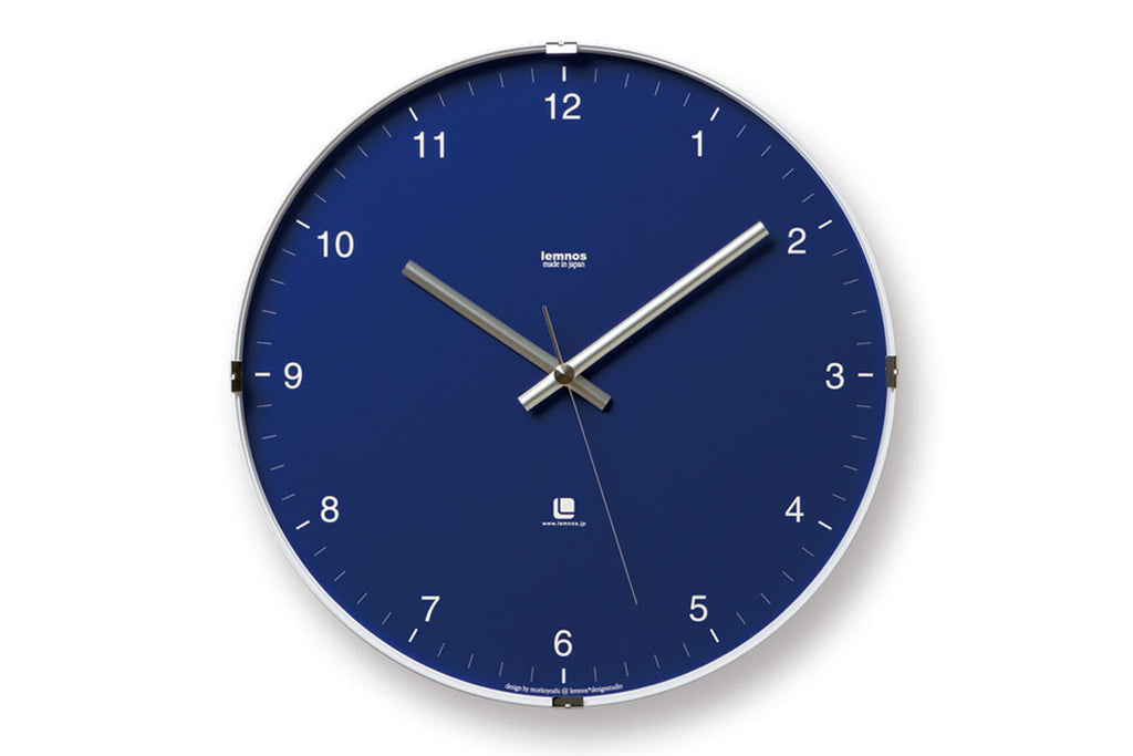 North Wall Clock Blue | Wall Clocks Online | Bibliotek Furniture Singapore