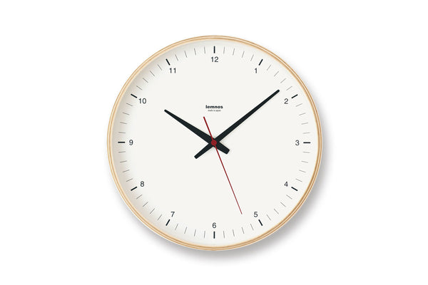 Lemnos Plywood Wall Clock | Wall Clocks Online | Bibliotek Singapore