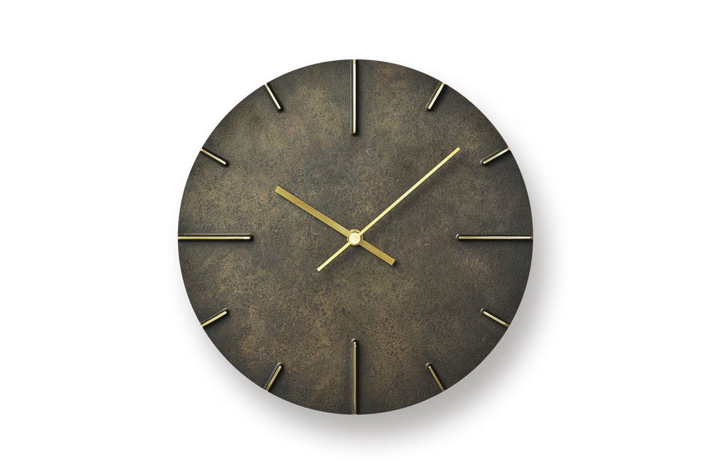 Lemnos Quaint Wall Clock Black | Wall Clocks Online | Bibliotek