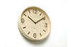 Lemnos Thomson Wall Clock, Natural | Wall Clocks Online | Bibliotek