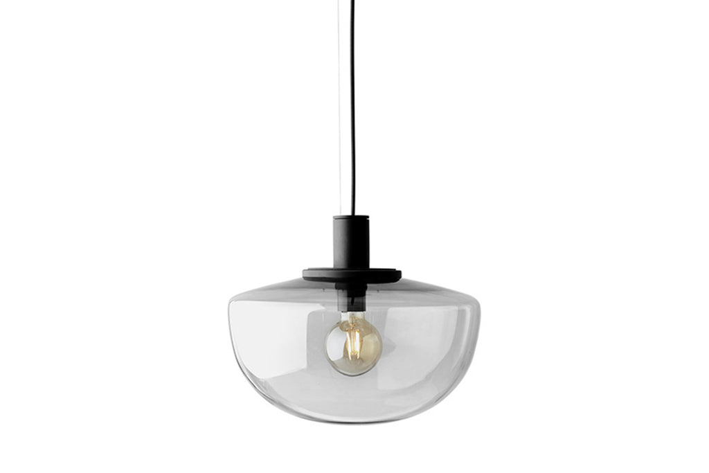 MENU Bank Pendant - Smoke | Pendant Lamps & Lighting | Bibliotek Design