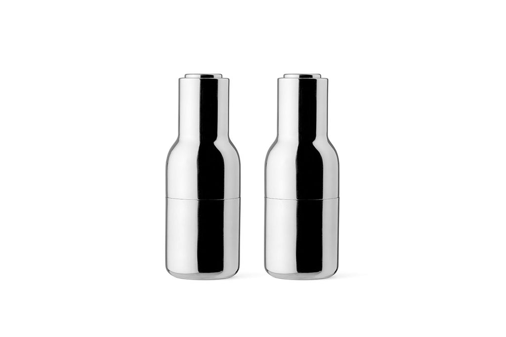 MENU Bottle Grinder Mirror Polished Stainless Steel | Tableware & Kitchen Accessories | Bibliotek