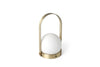 MENU Carrie LED Lamp Brushed Brass - Without Light | Desk & Table Lamps | Bibliotek