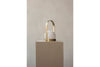 MENU Carrie LED Lamp Brushed Brass - On Plinth | Desk & Table Lamps | Bibliotek