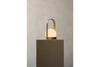 MENU Carrie LED Lamp Brushed Brass - Bedroom Lighting | Desk & Table Lamps | Bibliotek