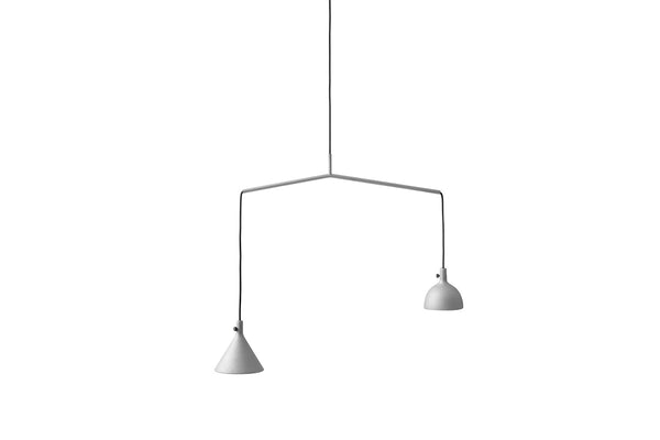 MENU Cast Pendant Lighting Aluminum Shape 4 | Buy Lighting Online | Bibliotek