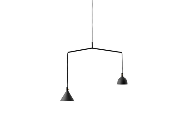 MENU Cast Pendant Lighting Black Shape 4 | Lighting Online | Bibliotek