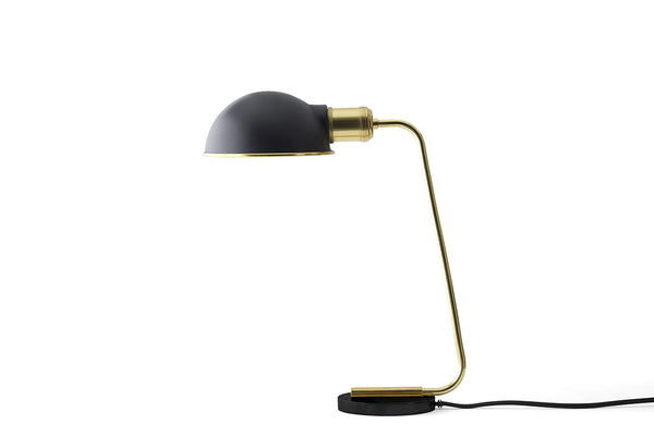 MENU Collister Table Lamp Brass | Desk & Table Lamps Online |Bibliotek