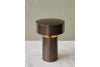 MENU Column Table Lamp, Bronze - Lighted | Desk & Table Lamp | Bibliotek Design