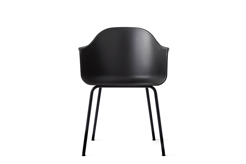 MENU Harbour Chair Black & Steel | Chairs & Furniture | Bibliotek