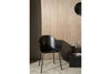 MENU Harbour Chair Black & Steel Scandinavian Furniture | Chairs & Furniture | Bibliotek