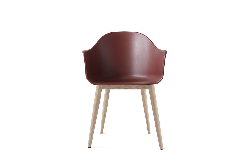 MENU Harbour Chair Burned Red with Oak| Chairs & Furniture | Bibliotek