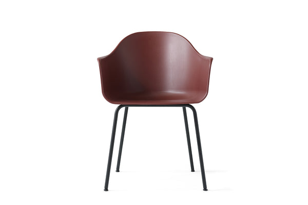 MENU Harbour Chair, Burned Red & Steel | Chairs & Furniture |Bibliotek