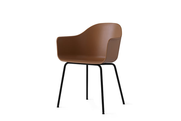 MENU Harbour Chair Khaki with Steel Side Profile | Chairs & Furniture | Bibliotek