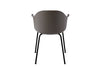 MENU Harbour Chair Olive with Steel Back | Chairs & Furniture | Bibliotek
