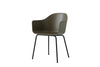 MENU Harbour Chair Olive with Steel Side Profile | Chairs & Furniture | Bibliotek