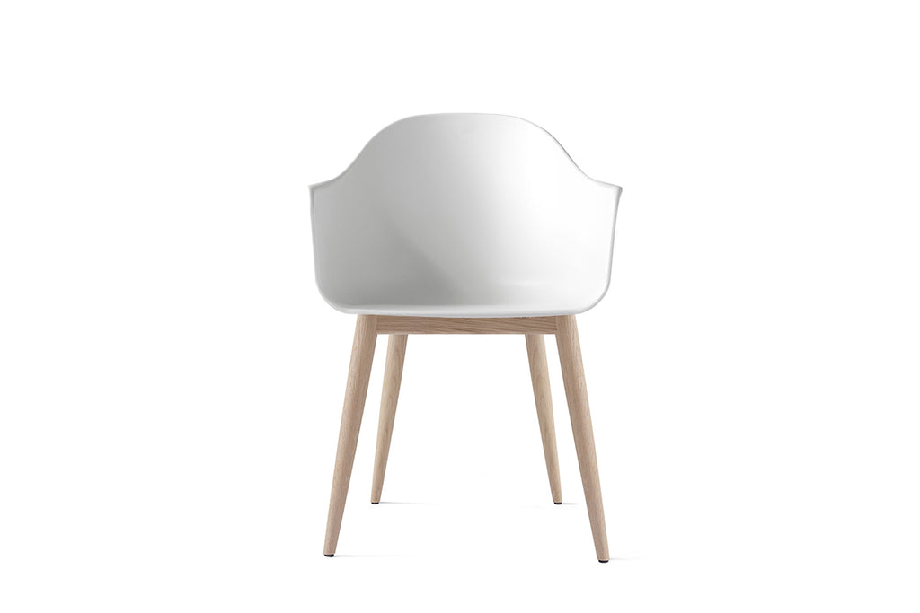 MENU Harbour Chair White with Oak | Chairs & Furniture | Bibliotek