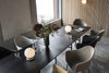 MENU Harbour Chair Olive with Steel Dining Room | Chairs & Furniture | Bibliotek