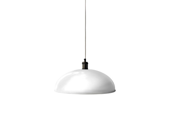 MENU Hubert Pendant Lamp, Ø45 - Ivory | Pendant Lamps & Lighting | Bibliotek