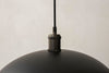 MENU Hubert Pendant Lamp, Ø45 - Black Top | Pendant Lamps & Lighting | Bibliotek
