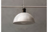 MENU Hubert Suspension Lamp - Ivory Close Up | Pendant Lamps & Lighting | Bibliotek