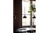 MENU Hubert Suspension Lamp - Black Living Room | Pendant Lamps & Lighting | Bibliotek