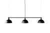 MENU Hubert Suspension Lamp - Black | Pendant Lamps & Lighting | Bibliotek