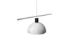 MENU Hubert Suspension Lamp - White Details | Pendant Lamps & Lighting | Bibliotek