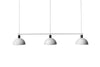 MENU Hubert Suspension Lamp - White | Pendant Lamps & Lighting | Bibliotek