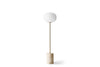 MENU JWDA Floor Lamp, Travertine 1 | Floor Lamp & Lighting | Bibliotek