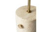 MENU JWDA Floor Lamp, Travertine - Details | Floor Lamp & Lighting | Bibliotek
