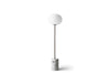 MENU JWDA Floor Lamp, White Marble - Side | Floor Lamp & Lighting | Bibliotek