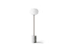 MENU JWDA Floor Lamp, White Marble - Back | Floor Lamp & Lighting | Bibliotek