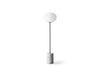 MENU JWDA Floor Lamp, White Marble - Back without Wire | Floor Lamp & Lighting | Bibliotek
