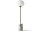 MENU JWDA Floor Lamp, White Marble - Close Up | Floor Lamp & Lighting | Bibliotek