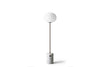 MENU JWDA Floor Lamp, White Marble | Floor Lamp & Lighting | Bibliotek