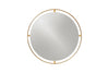 MENU Nimbus Mirror Polished Brass | Wall Mirrors & Furniture | Bibliotek