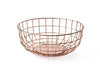 MENUI Norm Wire Bowl, Copper | Bowls & Baskets | Bibliotek Design