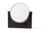 MENU Pepe Marble Mirror Black | Wall Mirrors & Furniture | Bibliotek