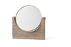 MENU Pepe Marble Mirror Brown | Wall Mirrors & Furniture | Bibliotek