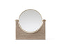 MENU Pepe Marble Mirror Brown and Brass | Wall Mirrors & Furniture | Bibliotek