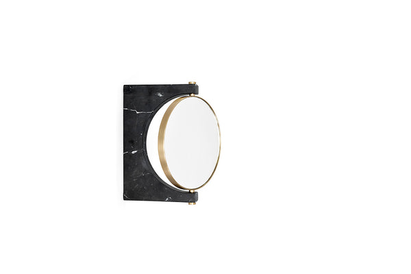 MENU Pepe Marble Wall Mirror Black | Wall Mirrors & Furniture | Bibliotek