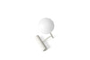MENU Phare LED Lamp, Light Grey - Top | Desk & Table Lamp | Bibliotek Design