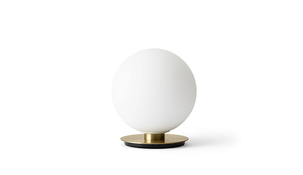 MENU TR Table Wall Lamp - Brushed Brass & Matt Opal | Wall & Table Lighting | Bibliotek Design