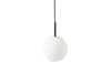 MENU TR Pendant Lamp - Black & Matt Opal | Pendant Lamps & Lighting | Bibliotek Design