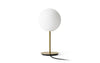 MENU TR Table Lamp - Brushed Brass & Matt Opal with wire | Desk & Table Lighting | Bibliotek Singapore