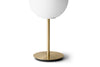 MENU TR Table Lamp - Brushed Brass & Matt Opal (close up) | Desk & Table Lighting | Bibliotek Singapore