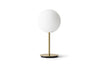 MENU TR Table Lamp - Brushed Brass & Matt Opal | Desk & Table Lighting | Bibliotek Singapore